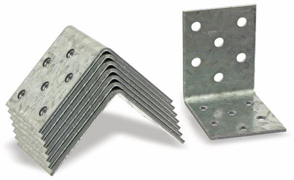 Winkelverbinder, 50x50x40x2 mm, 8 Stück - Produktbild 1