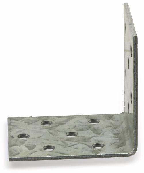 Winkelverbinder, 50x50x40x2 mm, 8 Stück - Produktbild 3