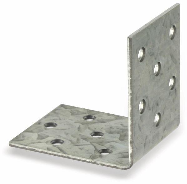 Winkelverbinder, 50x50x40x2 mm, 8 Stück - Produktbild 4