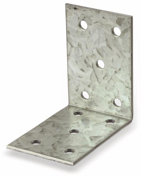 Winkelverbinder, 60x60x40x2 mm, 6 Stück - Produktbild 2