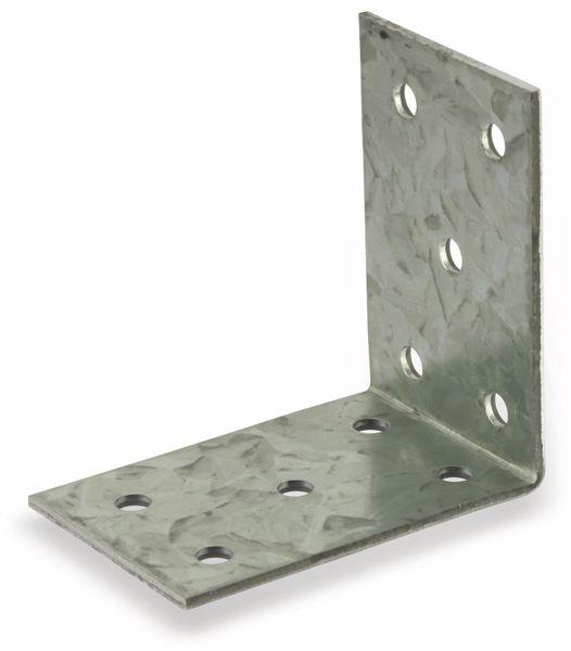 Winkelverbinder, 60x60x40x2 mm, 6 Stück - Produktbild 3