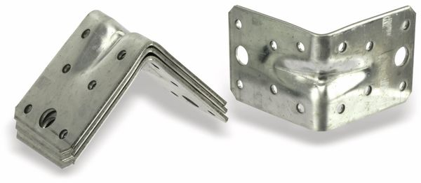 Winkelverbinder, 70x70x55x2,5 mm, 4 Stück - Produktbild 1
