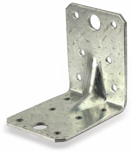 Winkelverbinder, 70x70x55x2,5 mm, 4 Stück - Produktbild 4