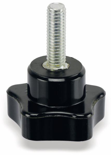 Sterngriffschraube, M6/20mm, schwarz - Produktbild 3