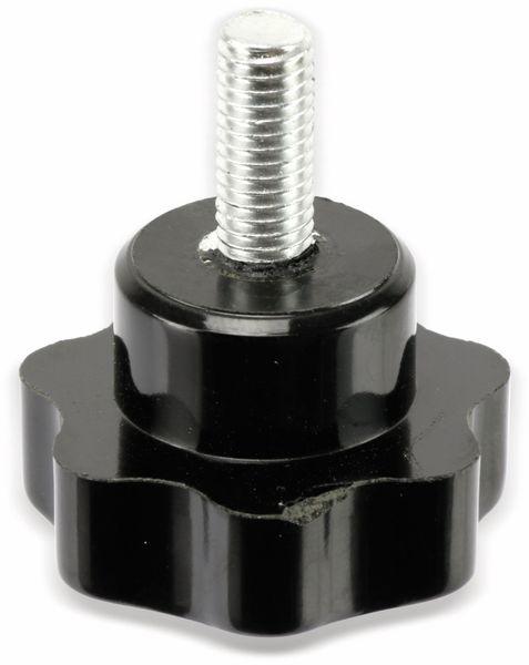 Sterngriffschraube, M8/20mm, schwarz - Produktbild 3