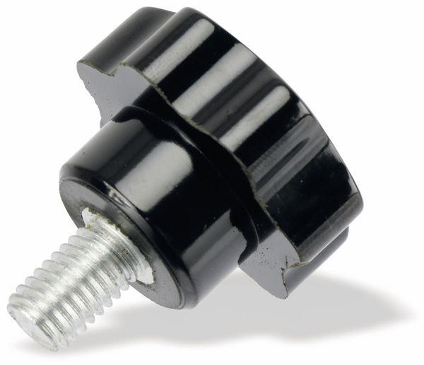 Sterngriffschraube, M10/15mm, schwarz - Produktbild 1