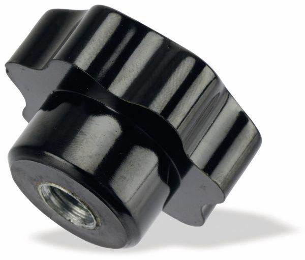 Sterngriffmutter, M10/19mm, schwarz - Produktbild 1