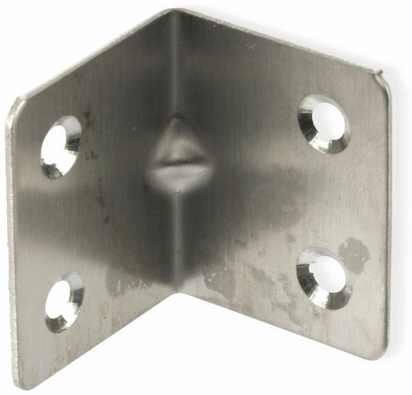 Winkelverbinder, Edelstahl, 32x32x38 mm, 10 Stück - Produktbild 3