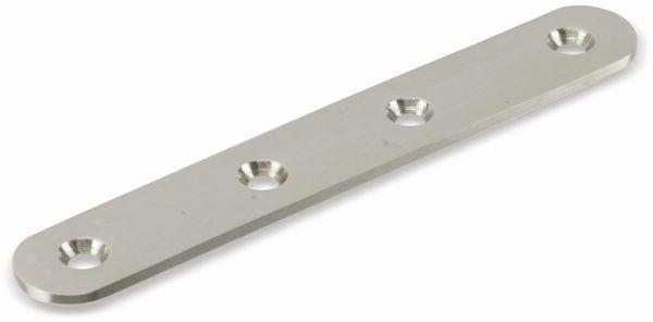 Verbinder, 125x20 mm, Edelstahl