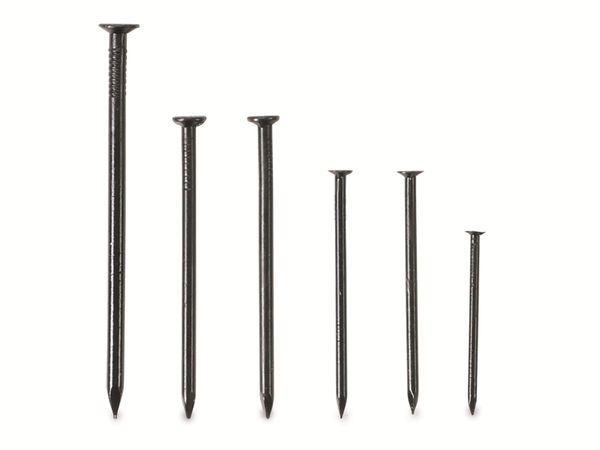 Stahlnagel-Sortiment KRAFTMANN 88148, 85 Stück