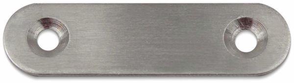 Verbinder, Edelstahl, 57x16 mm, 10 Stück