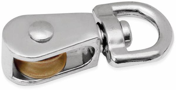 Umlenkrolle, Metall, 13 mm
