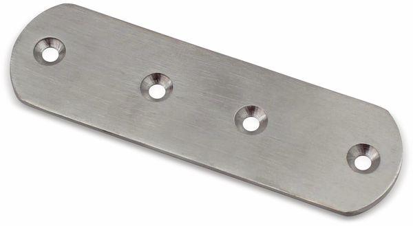 Verbinder, 125x38 mm, Edelstahl, 1 Stück