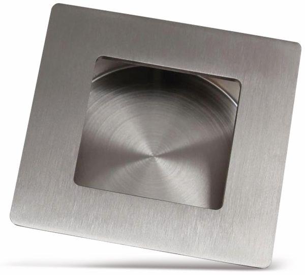 Griffmulde, Edelstahl, 50x50 mm