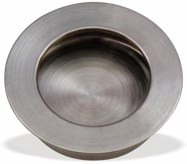 Griffmulde, Edelstahl, Ø 41 mm, flache Oberfläche