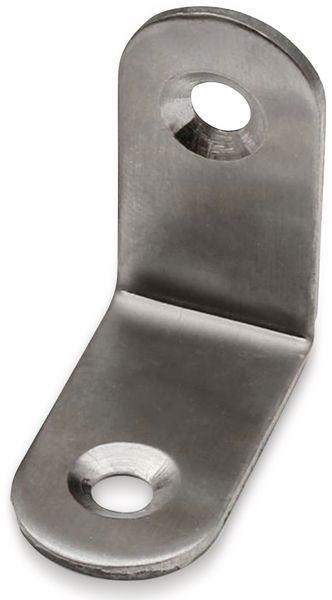 Winkelverbinder, Edelstahl, 30x30x16 mm, 10 Stück