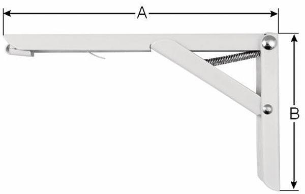 Regalwinkel-Set, klappbar - Produktbild 2