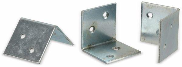 Winkelverbinder 40x40x40x2 mm, 20 Stück