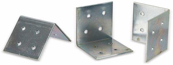 Winkelverbinder, 50x50x50x2 mm, 20 Stück