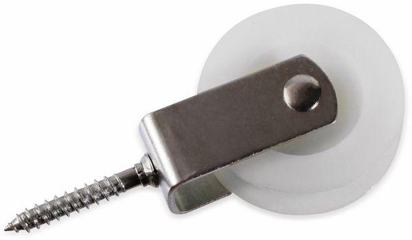 Umlenkrolle, Stahl, 50 mm, bis 30 kg Belastung