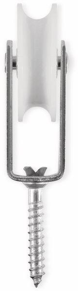 Umlenkrolle, Stahl, 50 mm, bis 30 kg Belastung - Produktbild 2