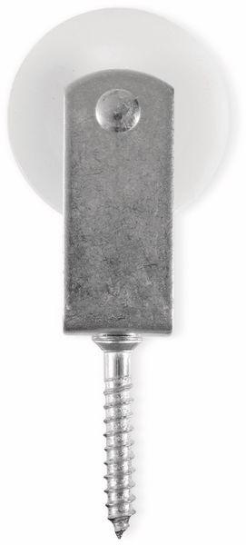 Umlenkrolle, Stahl, 50 mm, bis 30 kg Belastung - Produktbild 3
