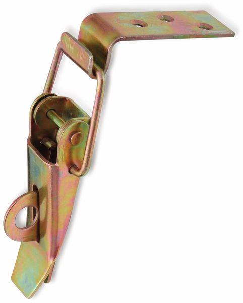 Spannverschluss, 89x43x25 mm, Abschließbar, Stahl