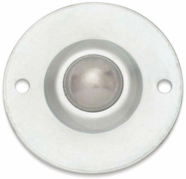 Kugelrolle, 71x28 mm, 35 kg, Stahl