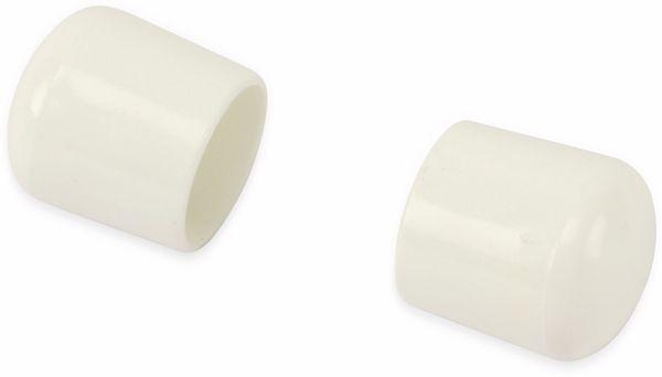 Stuhlgleiter 18 mm, 16 Stück, weiß - Produktbild 2