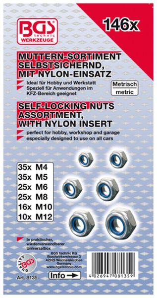 Sechskant-Muttern-Sortiment 146-tlg. (8135) - Produktbild 2