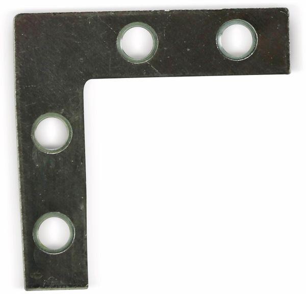 Verbindungblech, L-Winkel, 39x39 mm