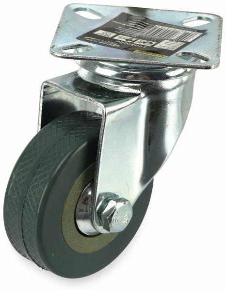 Lenkrolle Kugelgelagert MASTERPROOF 4054, PVC, Ø 50 mm