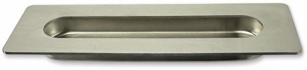 Griffmulde, Edelstahl, 180x60mm