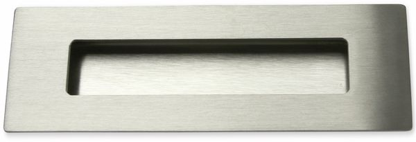 Griffmulde, Edelstahl, 150x50mm