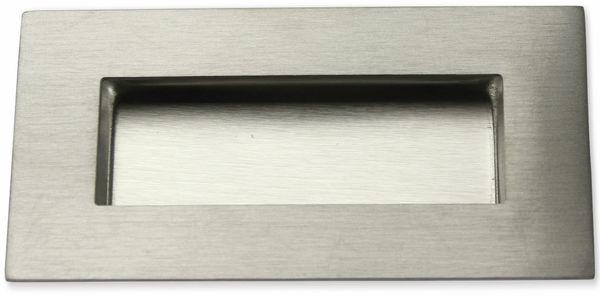 Griffmulde, Edelstahl, 102x52mm