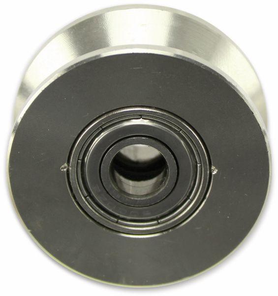 Laufrolle, Ø48mm, V-Nut