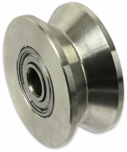 Laufrolle, Ø48mm, V-Nut - Produktbild 2