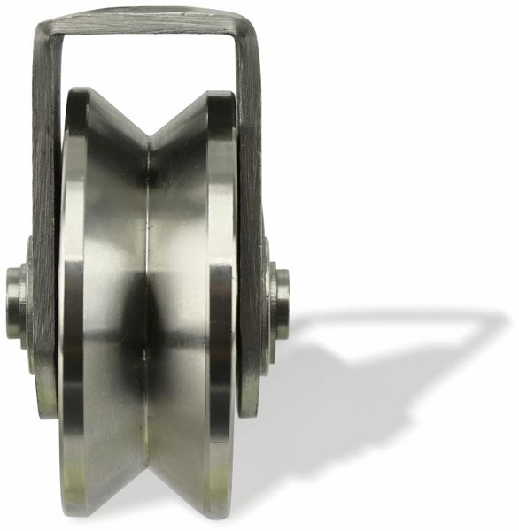 Laufrolle, Ø58 mm, V-Nut - Produktbild 2
