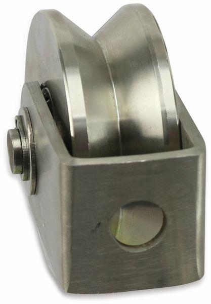 Laufrolle, Ø58 mm, V-Nut - Produktbild 3