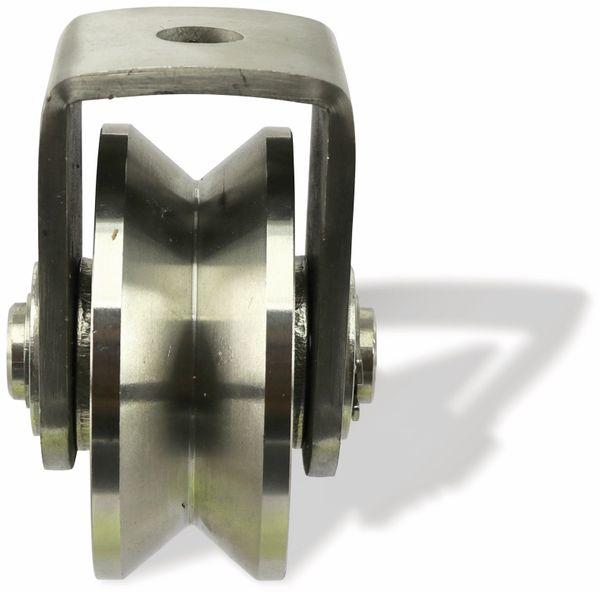 Laufrolle, Ø68 mm, V-Nut - Produktbild 2