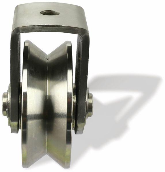 Laufrolle, Ø78 mm, V-Nut - Produktbild 2