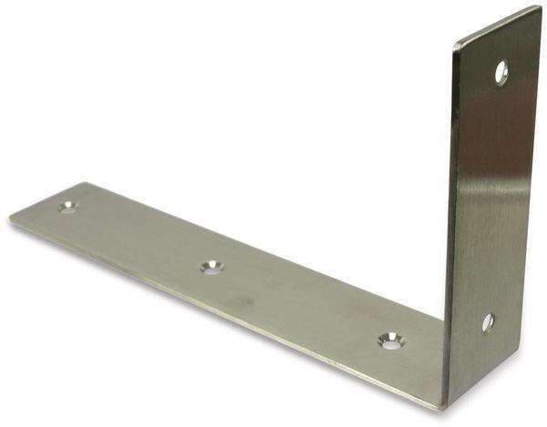 Winkel, 225x125x45 mm, Edelstahl - Produktbild 2