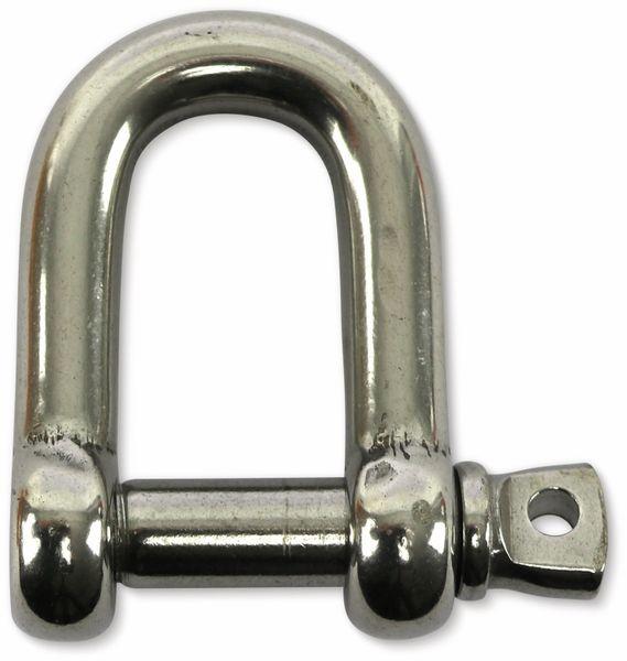 Schäkelhaken, 12 mm, Edelstahl 304 - Produktbild 2