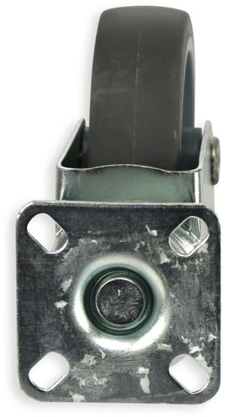 Lenk-Laufrolle, grau, Ø75 mm - Produktbild 2