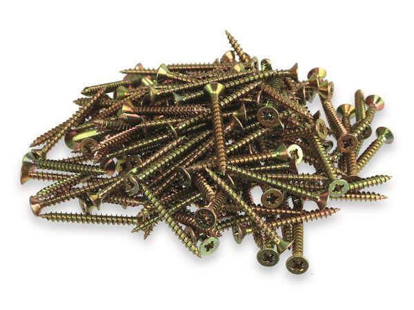Spannplattenschrauben, 1031745, 4,0 x 40 mm, 580St.