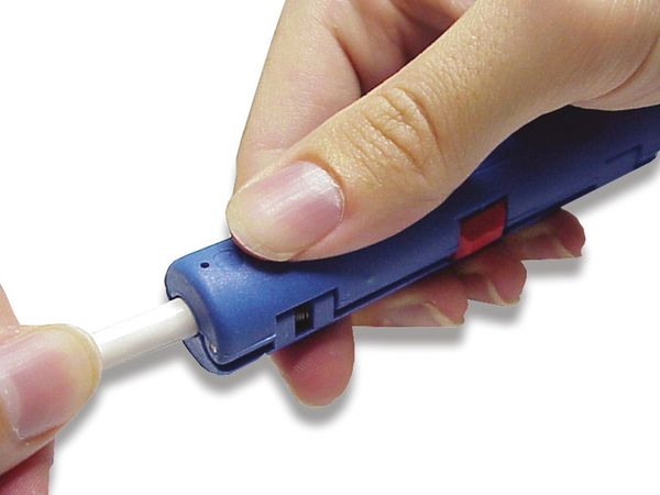 Koaxialkabel-Abisolierer WEICON Coax-Stripper No. 2 - Produktbild 2
