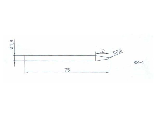 Ersatz-Lötspitze Ø 4,7mm - Produktbild 2