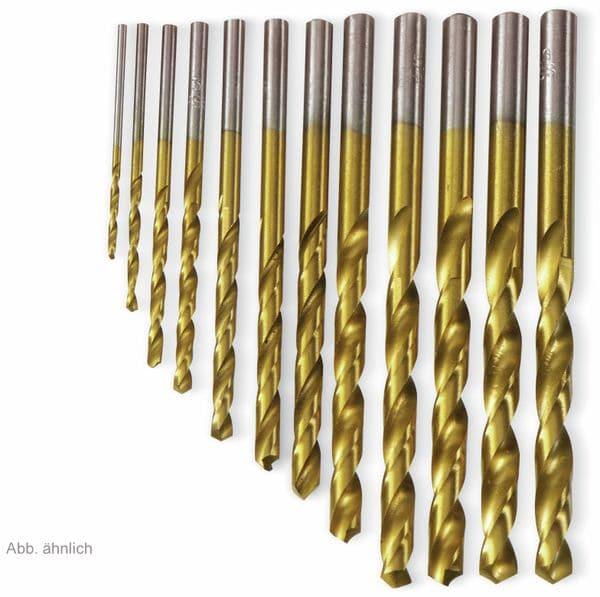 HSS-Spiralbohrer, titaniumbeschichtet