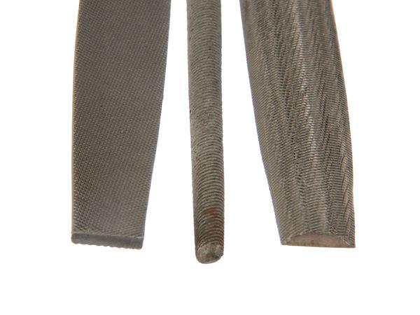 Feilen-Satz, 200 mm, Hieb 2, 3-teilig - Produktbild 2