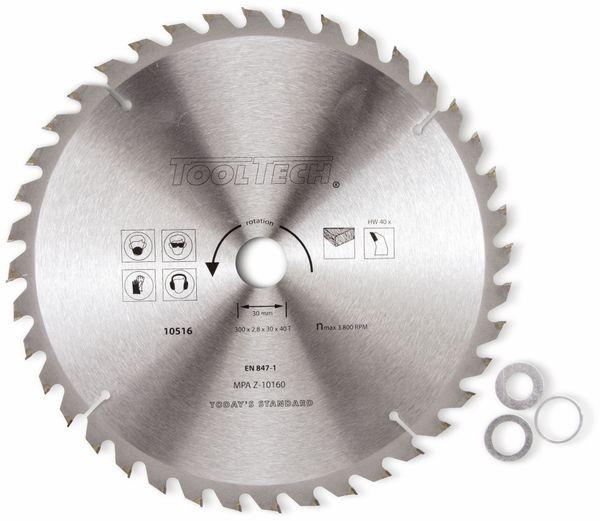 Hartmetall-Kreissägeblatt, 250 mm - Produktbild 1